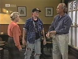 Helen Daniels, Greg Bartlett, Jim Robinson in Neighbours Episode 1863