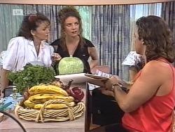 Pam Willis, Gaby Willis, Wayne Duncan in Neighbours Episode 1863