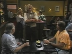 Bert Willis, Annalise Hartman, Brad Willis, Doug Willis in Neighbours Episode 1865