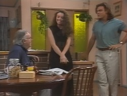 Bert Willis, Gaby Willis, Wayne Duncan in Neighbours Episode 1865