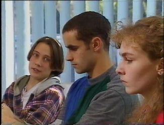 Troy Hawkins, Kim Roth, Debbie Martin in Neighbours Episode 2200