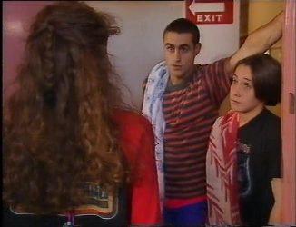 Debbie Martin, Kim Roth, Troy Hawkins in Neighbours Episode 2200