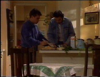 Mark Gottlieb, Sam Kratz in Neighbours Episode 2201