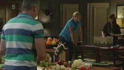 Karl Kennedy, Andrew Robinson, Summer Hoyland in Neighbours Episode 6346