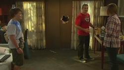 Callum Jones, Toadie Rebecchi, Sonya Mitchell in Neighbours Episode 6347