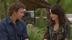 Lucas Fitzgerald, Emilia Jovanovic in Neighbours Episode 6347