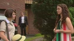 Sophie Ramsay, Paul Robinson, Kate Ramsay in Neighbours Episode 6349