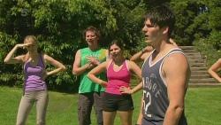 Lucas Fitzgerald, Chris Pappas in Neighbours Episode 6349
