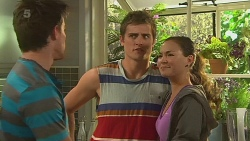 Rhys Lawson, Kyle Canning, Jade Mitchell in Neighbours Episode 6355