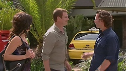Emilia Jovanovic, Michael Williams, Lucas Fitzgerald in Neighbours Episode 6356