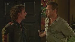 Lucas Fitzgerald, Michael Williams in Neighbours Episode 6356