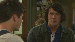 Chris Pappas, Aidan Foster in Neighbours Episode 6357