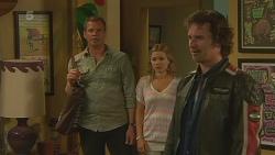 Michael Williams, Natasha Williams, Lucas Fitzgerald in Neighbours Episode 6357