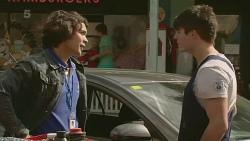 Aidan Foster, Chris Pappas in Neighbours Episode 6357