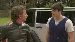Lucas Fitzgerald, Chris Pappas in Neighbours Episode 6357