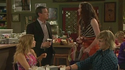 Natasha Williams, Paul Robinson, Kate Ramsay, Andrew Robinson in Neighbours Episode 6359