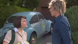 Sophie Ramsay, Andrew Robinson in Neighbours Episode 6359