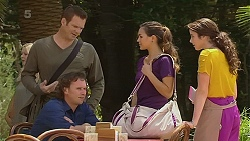 Michael Williams, Lucas Fitzgerald, Jade Mitchell, Kate Ramsay in Neighbours Episode 6361