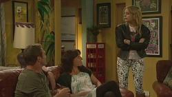 Michael Williams, Emilia Jovanovic, Natasha Williams in Neighbours Episode 6362