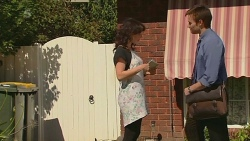 Emilia Jovanovic, Rhys Lawson in Neighbours Episode 6362