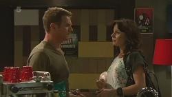 Michael Williams, Emilia Jovanovic in Neighbours Episode 6362