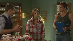 Toadie Rebecchi, Sonya Mitchell, Kyle Canning in Neighbours Episode 6364