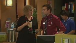 Jessica Girwood, Rhys Lawson, Aidan Foster in Neighbours Episode 6365
