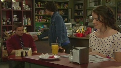 Rhys Lawson, Aidan Foster, Kate Ramsay in Neighbours Episode 6365