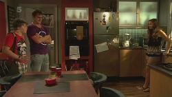 Callum Jones, Kyle Canning, Jade Mitchell in Neighbours Episode 6365