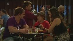 Kyle Canning, Rhys Lawson, Callum Jones, Jade Mitchell in Neighbours Episode 6365