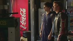 Chris Pappas, Lucas Fitzgerald in Neighbours Episode 6366