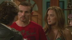 Lucas Fitzgerald, Toadie Rebecchi, Sonya Mitchell in Neighbours Episode 6366