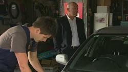 Chris Pappas, Supt. Duncan Hayes in Neighbours Episode 6366