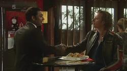 Ajay Kapoor, Lucas Fitzgerald in Neighbours Episode 6366