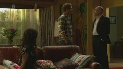 Emilia Jovanovic, Michael Williams, Supt. Duncan Hayes in Neighbours Episode 6366