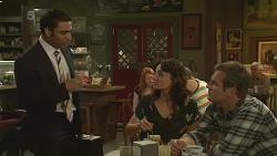 Ajay Kapoor, Emilia Jovanovic, Michael Williams in Neighbours Episode 6366