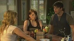 Natasha Williams, Summer Hoyland, Chris Pappas in Neighbours Episode 6366