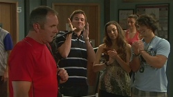 Karl Kennedy, Rhys Lawson, Jade Mitchell, Aidan Foster in Neighbours Episode 6367