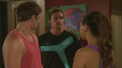 Kyle Canning, Rhys Lawson, Jade Mitchell in Neighbours Episode 6369