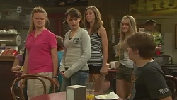 Claudia Howard, Sophie Ramsay, Callum Jones in Neighbours Episode 6370