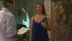 Toadie Rebecchi, Charlotte McKemmie, Sonya Mitchell in Neighbours Episode 6370
