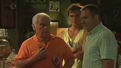 Lou Carpenter, Kyle Canning, Karl Kennedy in Neighbours Episode 6375