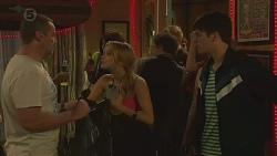 Toadie Rebecchi, Natasha Williams, Chris Pappas in Neighbours Episode 6375