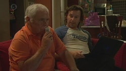 Lou Carpenter, Lucas Fitzgerald in Neighbours Episode 6375