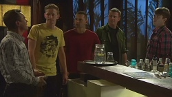 Paul Robinson, Bruce Bently in Neighbours Episode 6376