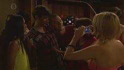 Rani Kapoor, Bruce Bently, Natasha Williams in Neighbours Episode 6376