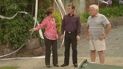 Susan Kennedy, Paul Robinson, Lou Carpenter in Neighbours Episode 6376