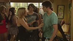 Natasha Williams, Aidan Foster, Chris Pappas in Neighbours Episode 6376