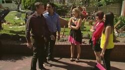 Paul Robinson, Ajay Kapoor, Natasha Williams, Sophie Ramsay, Rani Kapoor in Neighbours Episode 6376