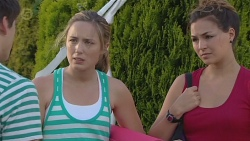Chris Pappas, Sonya Mitchell, Jade Mitchell in Neighbours Episode 6377
